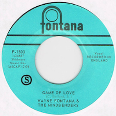 WAYNE FONTANA & THE MINDBENDERS / GAME OF LOVE