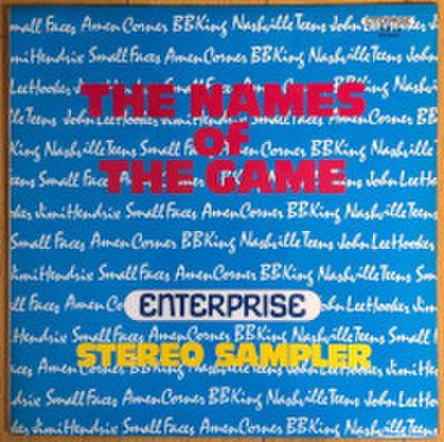 V.A. / THE NAMES OF THE GAME - STEREO SAMPLER