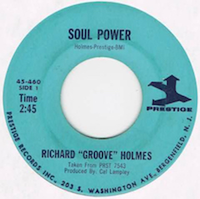 "RICHARD ""GROOVE"" HOLMES / SOUL POWER"
