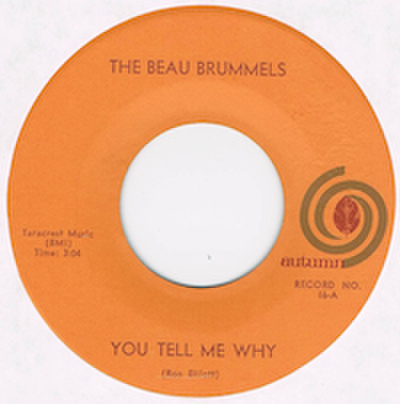 THE BEAU BRUMMELS / YOU TELL ME WHY