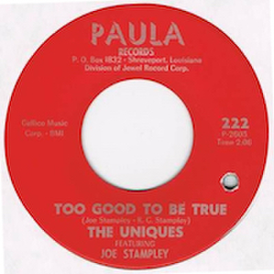 UNIQUES featuring JOE STAMPLEY / TOO GOOD TO BE TRUE