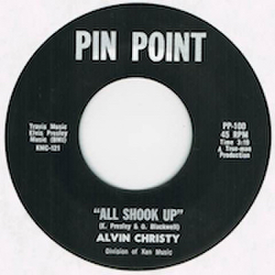 ALVIN CHRISTY / ALL SHOOK UP