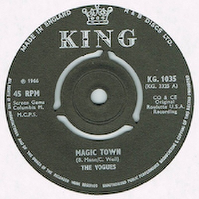 THE VOGUES / MAGIC TOWN