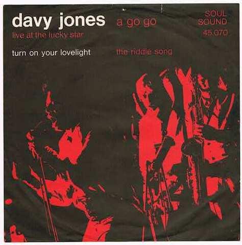 DAVY JONES / TURN ON YOUR LOVELIGHT