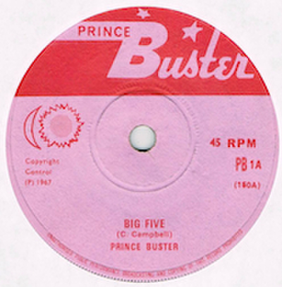PRINCE BUSTER / BIG FIVE