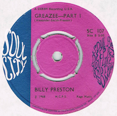 BILLY PRESTON / GREAZEE