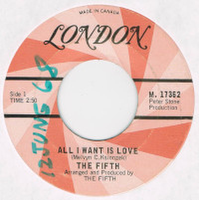 THE FIFTH / ALL I WANT IS LOVE