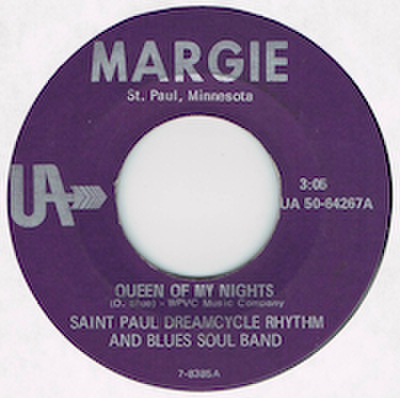 SAINT PAUL DREAMCYCLE RHYTHM AND BLUES SOUL BAND / QUEEN OF MY NIGHTS