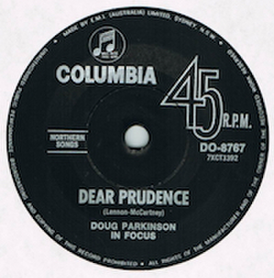 DOUG PARKINSON IN FOCUS / DEAR PRUDENCE