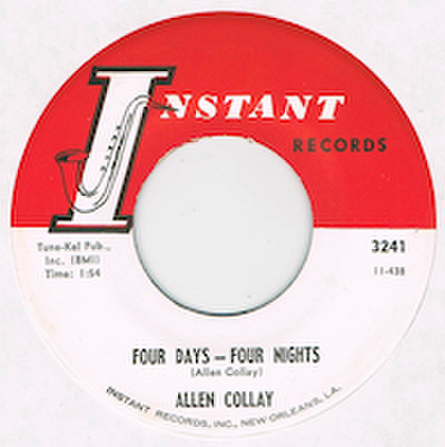 ALLEN COLLAY / FOUR DAYS - FOUR NIGHTS