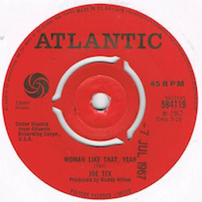 JOE TEX / WOMAN LIKE THAT, YEAH