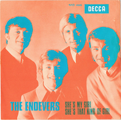 THE ENDEVERS / SHE'S MY GIRL