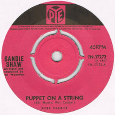 SANDIE SHAW / PUPPET ON A STRING