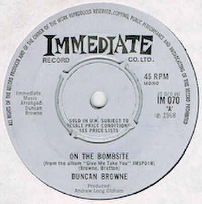 DUNCAN BROWNE / ON THE BOMBSITE
