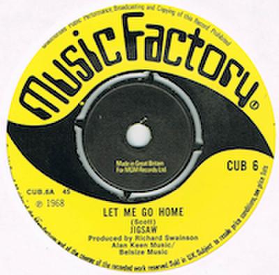 JIGSAW / LET ME GO HOME