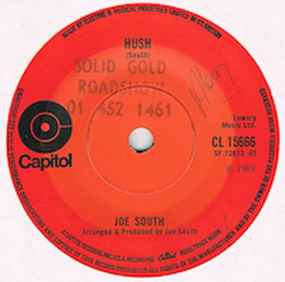 JOE SOUTH / HUSH