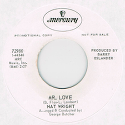 NAT WRIGHT / MR. LOVE
