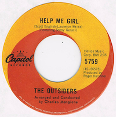 OUTSIDERS / HELP ME GIRL