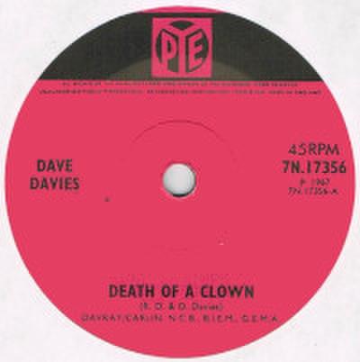 DAVE DAVIES / DEATH OF A CLOWN