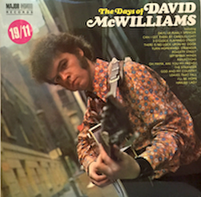 DAVID McWILLIAMS / THE DAYS OF DAVID McWILLIAMS