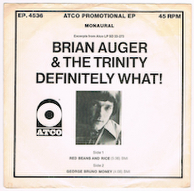 BRIAN AUGER & THE TRINITY / DEFINITELY WHAT!