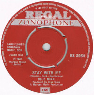 BLUE MINK / STAY WITH ME