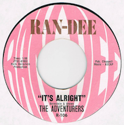 THE ADVENTURERS / IT'S ALRIGHT