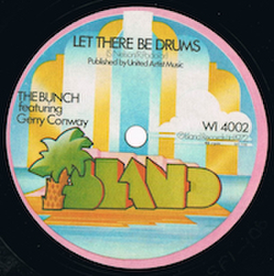 BUNCH featuring GERRYY CONWAY / LET THERE BE DRUMS