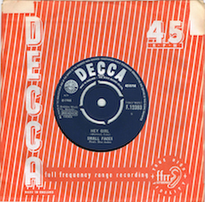 SMALL FACES / HEY GIRL