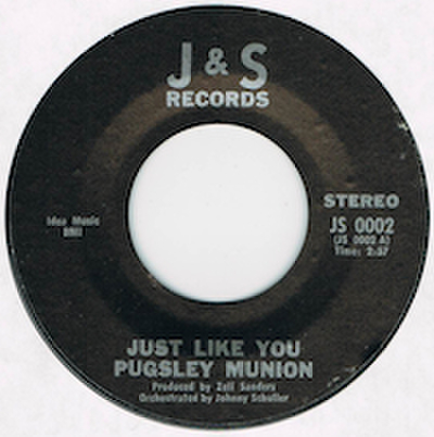 PUGSLEY MUNION / JUST LIKE YOU