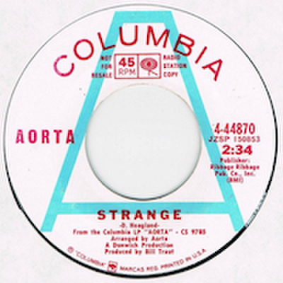 AORTA / STRANGE