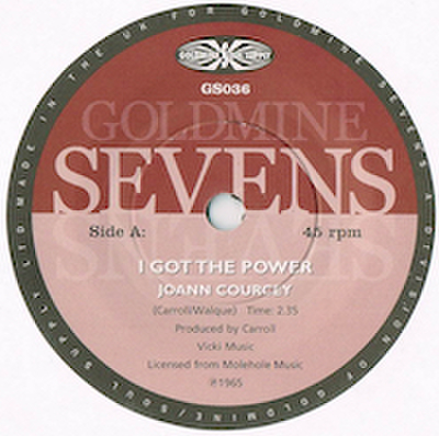 JOANN COURCEY / I GOT THE POWER