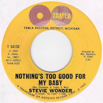 STEVIE WONDER / NOTHING'S TOO GOOD FOR MY BABY