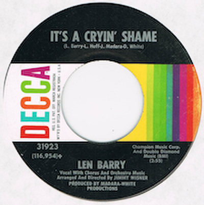 LEN BARRY / SOMEWHERE