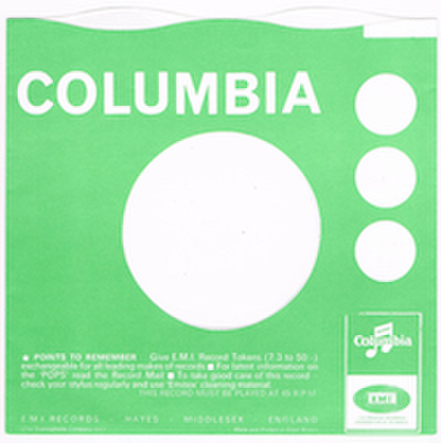 COMPANY SLEEVE (COLUMBIA) TYPE 1