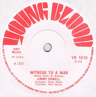 JIMMY POWELL / WITNESS TO A WAR