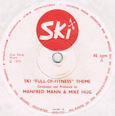 """MANFRED MANN & MIKE HUG / SKI """"FULL-OF-FITNESS"""" THEME"""