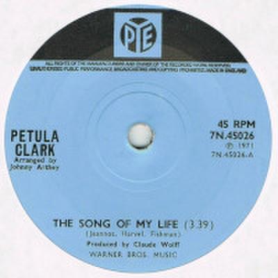 PETULA CLARK / THE SONG OF MY LIFE