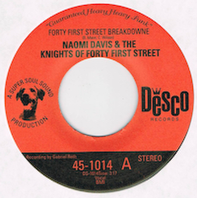 NAOMI DAVIS & THE KNIGHTS OF FORTY FIRST STREET / FORTY FIRST STREET BREAKDOWNE