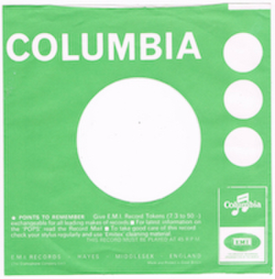 COMPANY SLEEVE (COLUMBIA) TYPE 3