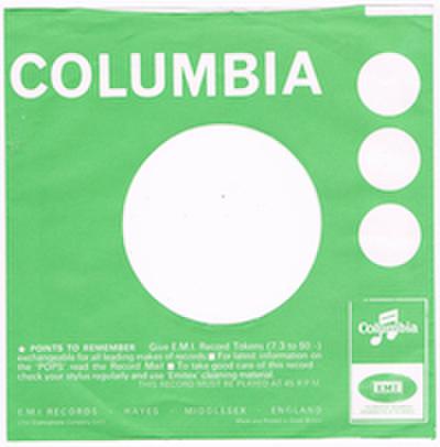 COMPANY SLEEVE (COLUMBIA) TYPE 3