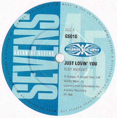 RYBY ANDREWS / JUST LOVIN' YOU