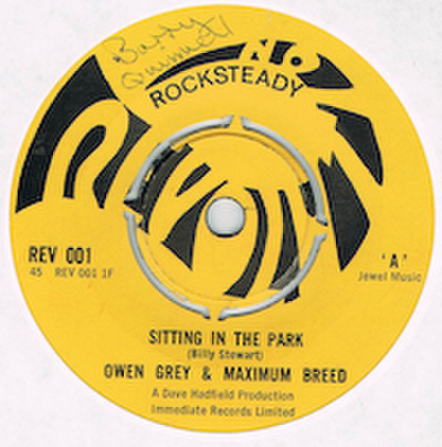 OWEN GREY & MAXIMUM BAND / SITTING IN THE PARK