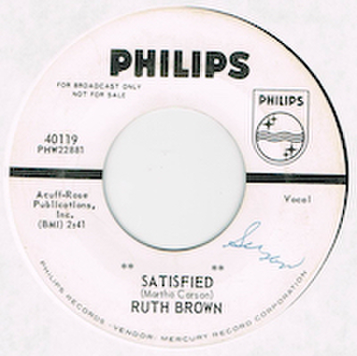 RUTH BROWN / SATISFIED