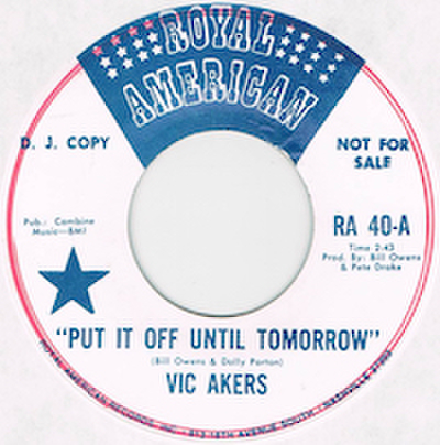 VIC AKERS / SEARCH OUR SOULS
