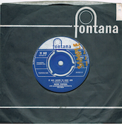 WAYNE FONTANA / IT WAS EASIER TO HURT HER
