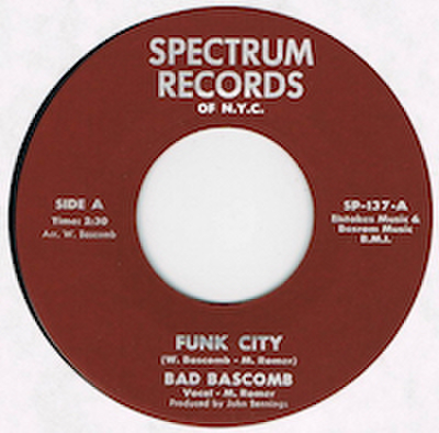 BAD BASCOMB / FUNK CITY