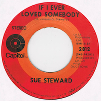 SUE STEWARD / LOVIN' BLUES