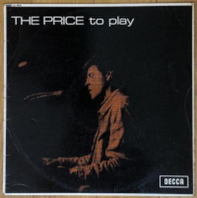 ALAN PRICE SET / THE PRICE TO PLAY