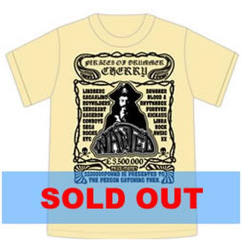 Tシャツ2009「PIRATES of DRUMMER」ナチュラル